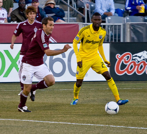 Colorado Rapids Brian Mullan by Corbin Elliott Photography, Denver Photographer