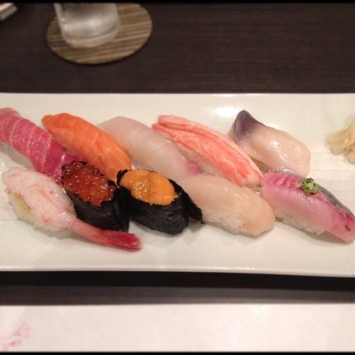 Sushi #tokyo #tokio #japan #japon