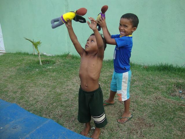 Brazil Doll Drive Donations 5