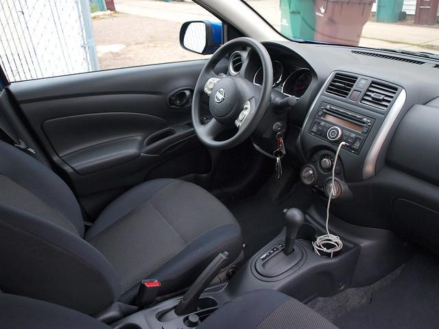2012 Nissan Versa Sedan 8