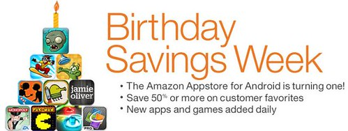 Amazon Appstore for Android first birthday