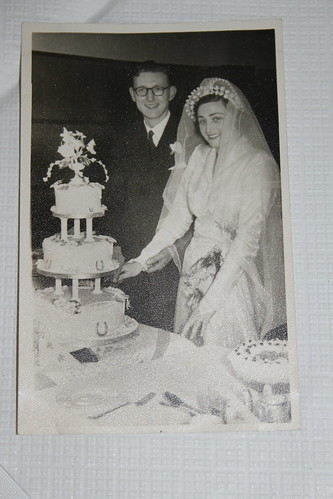 Grandparents' wedding