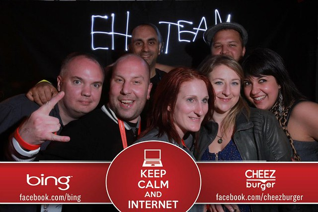 The Eh Team @ the Cheezburger party