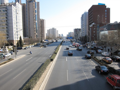 Road in Beijing
