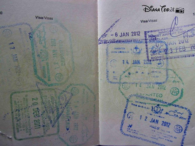 Passport Stamp Collection 04
