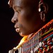 Portraits of Samburu peoples Loyangalani Lake Turkana Kenya