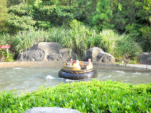 River Boat Ride in Leofoo (六福村)