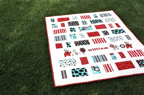 Cot quilt for William
