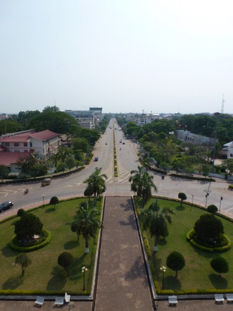 A pretty good view of Vientiane