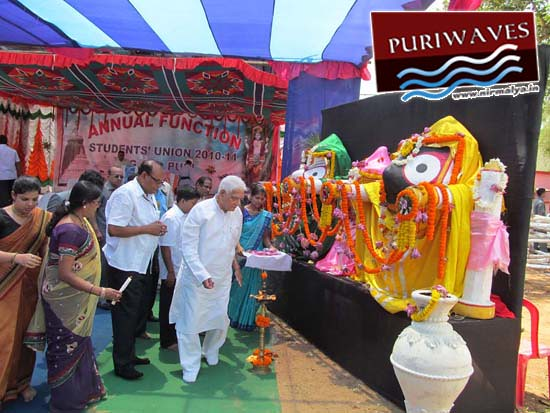 Annual Function of Gopabandhu Ayurveda College Puri