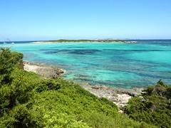 Sentier de Piantarella : l'îlot de Piana et le spot de wind/kitesurf