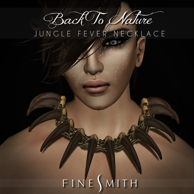 FINESMITH jungle fever necklace