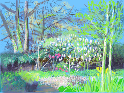 April Garden In Cheshire