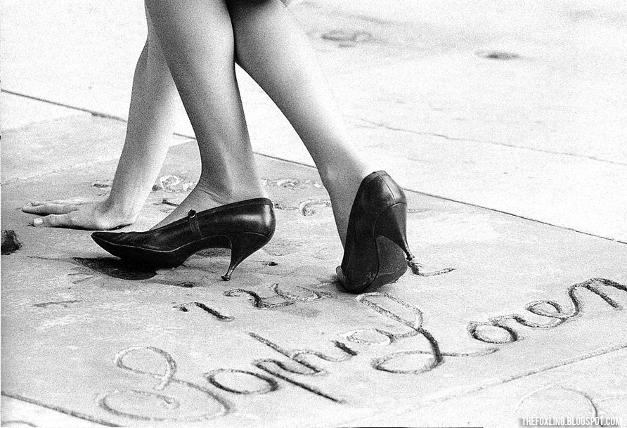 Sophia Loren's footprints