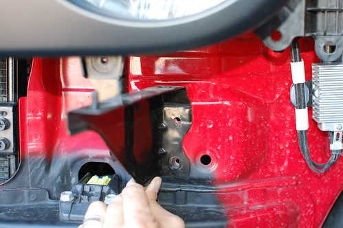 Headlight Bracket to be trimmed