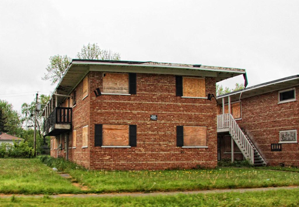 For sale - cheap! Abandoned apartment buildings, Harvey IL