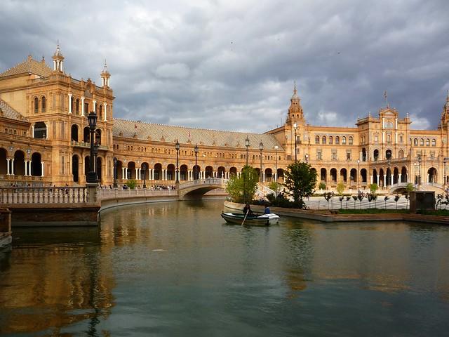 Sevilla Ruhepunkt Altstadt