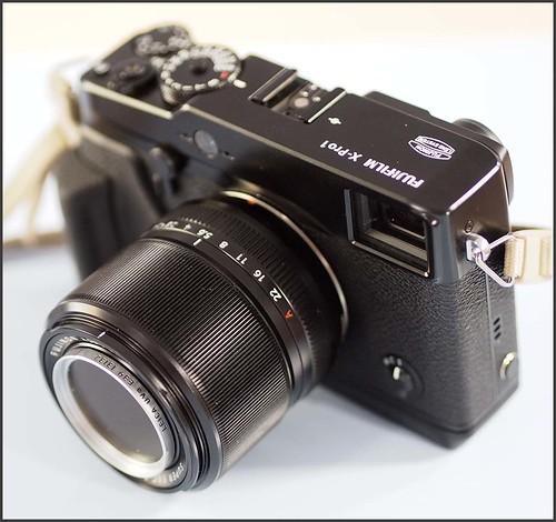Fuji X-Pro 1 60mm f/2.4 lens