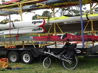 Velotechnik Streetmachine Poses With Sculls