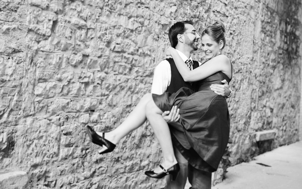 Cambridge Fun and Nerdy Engagement Photography