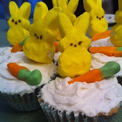 LaLa made awesome #cupcakes. #bunny
