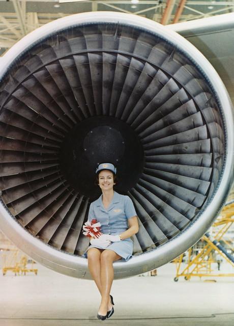 SAS Boeing 747-B