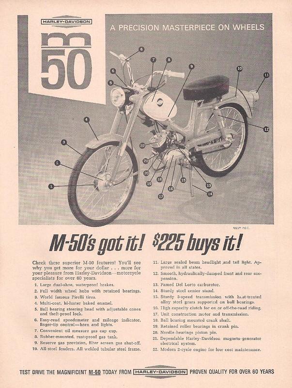 Harley-Davidson M50