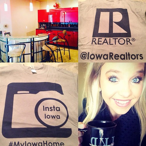 Thank you @iowarealtors for the lovely t-shirt I received in the mail. I love this contest! #myiowahome #iowarealtors #runnerup #notforlong