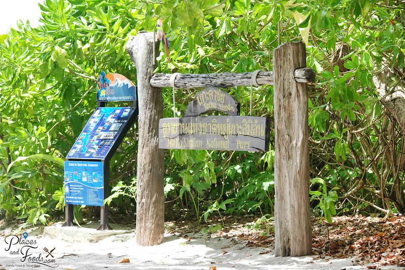 tachai island signage