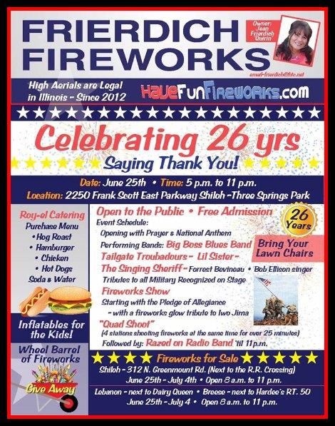 Frierdich Fireworks 6-25-16