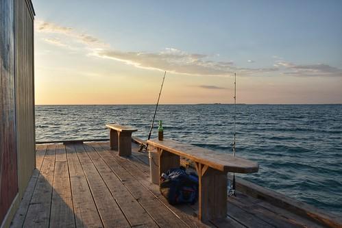 annamariaisland rodreel pier citypier usa florida fishing fish beer water tampa tampabay sea see meer fisch angeln angel nikon d3300