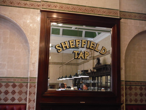 Mirror in The Sheffield Tap