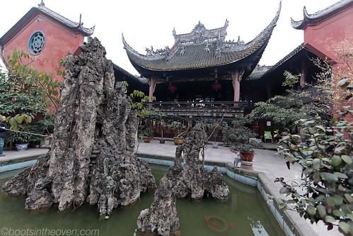 王爷庙 Wangye Temple Teahouse front