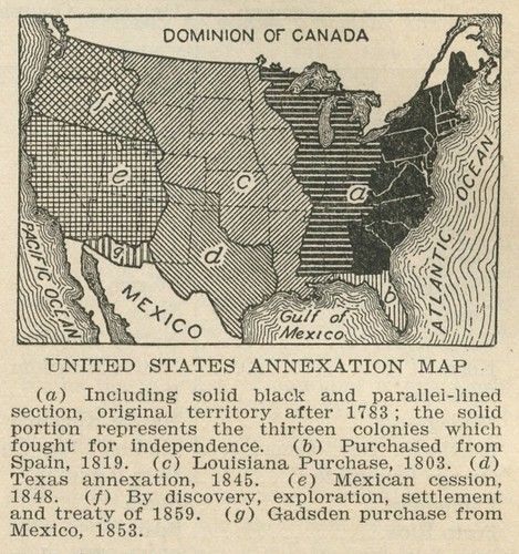 Us Map 1920.United States Annexation Map 1920 From Annexation The Flickr