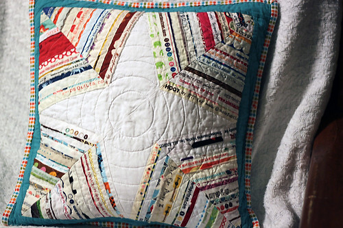 Selvedge Pillow for Jacey
