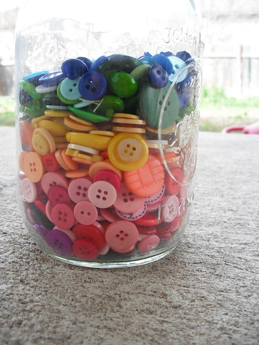 Rainbow Buttons by jenniferworthen