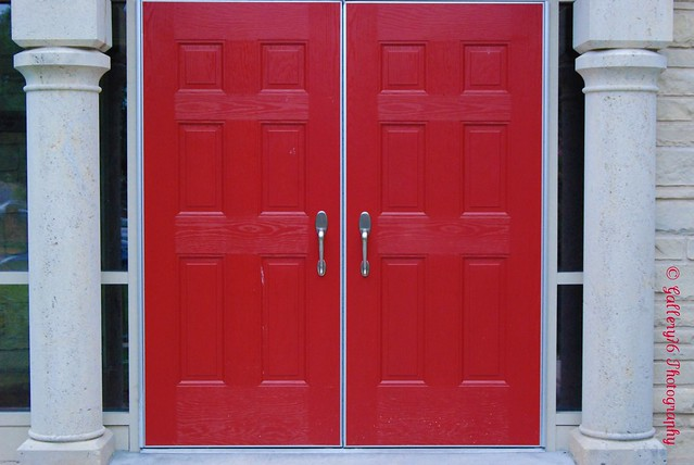 Double Red Doors Flickr Photo Sharing