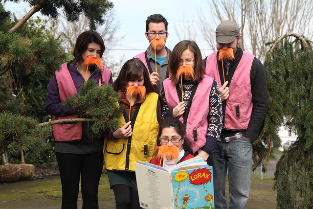FOT Staff Reading The Lorax