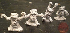 "Dark Horse Miniatures :: TEENAGE MUTANT NINJA TURTLES - ""The Terror Bears"" { 15 mm } ii (( 1986 ))"