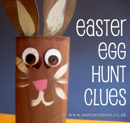 easter egg hunt clues