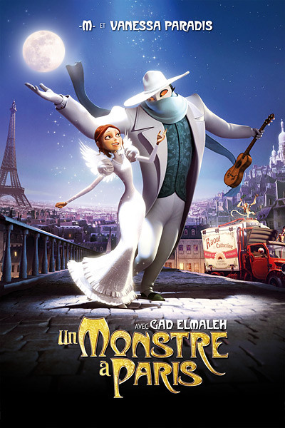 Монстр в Париже 2011 - профессиональный