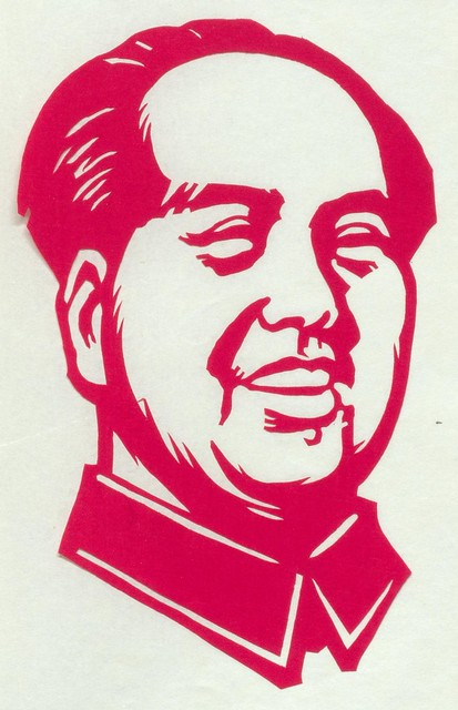 Mao Tse-tung Paper Cutting 4] | Flickr - Photo Sharing!