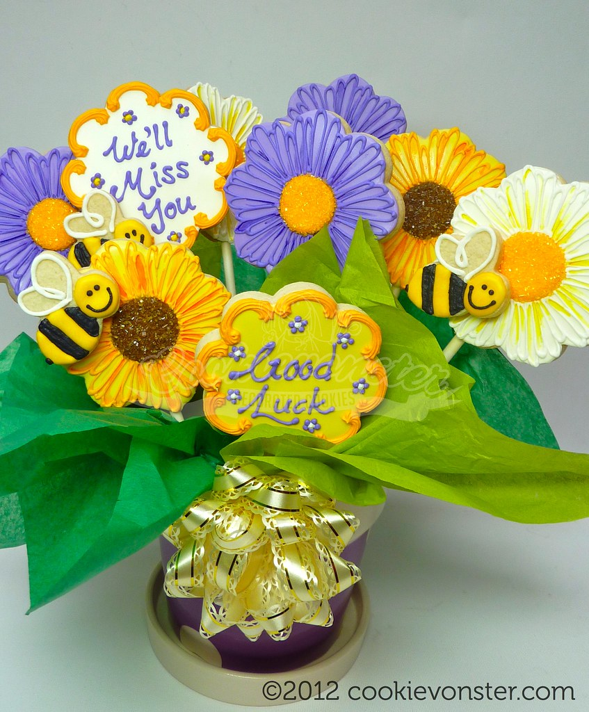 Cookie Bouquets & Gifts | Cookievonster Custom Decorated Cookies