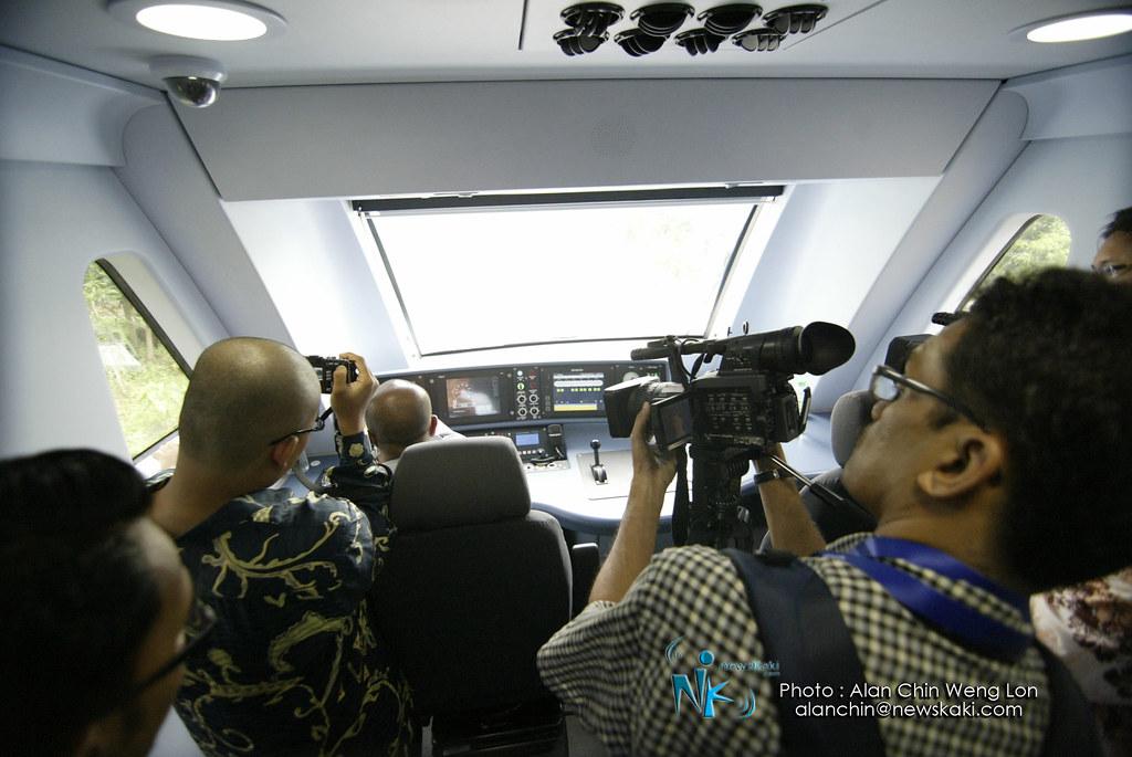 Cockpit overview of KTM SCS
