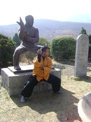 Tue, 15/03/2011 - 07:38 - SHIFU KANISHKA IN SHAOLIN PAO CHUAN POSTURE Shaolin Kung Fu India