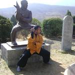SHIFU KANISHKA IN SHAOLIN PAO CHUAN POSTURE Shaolin Kung Fu India