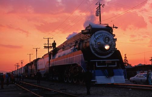 california trains baldwinpark southernpacific sp4449 gs4 americanfreedomtrain