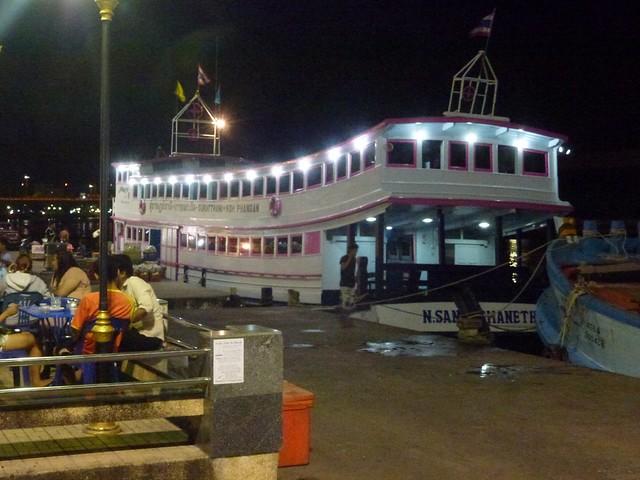Our sleeper boat to Koh Phangan
