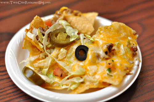 Happy Hour Nachos at La Casita ~ Roseville, MN