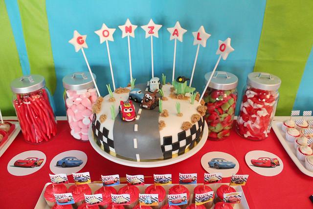 Nice Party: Un cumpleaños inspirado en Cars | Niceparty